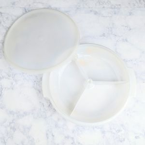 Vintage Tupperware Suzette Relish Tray 608-3